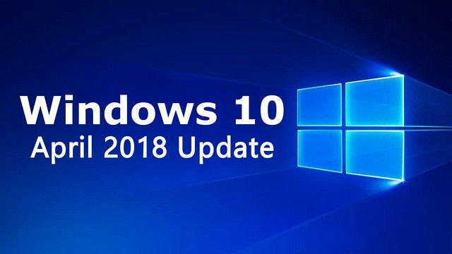 Windows 10 April 2018 Update ISO original