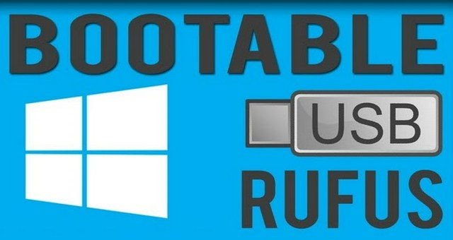 Rufus Usb Booteable de Windows 10