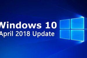 Windows 10 April 2018 Update ya es Oficial. Actualiza