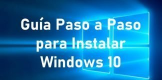 instalacion de windows paso a paso