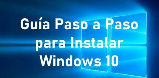 instalacion de windows paso a paso